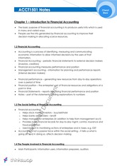 7922_ACCT1501 Study Notes