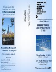 UIC HIM In-service 2015 brochure.docx