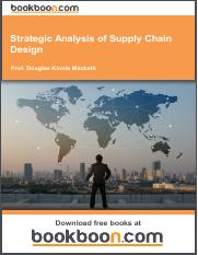Strategic Analysis of Supply Chain Design.pdf