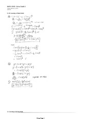 MATH 2930 Spring 2013 Assignment 3 Solutions