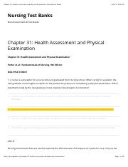 health assessment and physical examination estes pdf