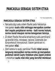 Pancasila Pancasila Sistem Etika Ppt Pancasila Sebagai Sistem Etika File 7 Pancasila Sbg Sistem Etika Pancasila Sebagai Sistem Etika Pancasila Sbg Course Hero