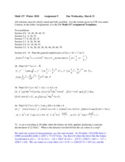 Math_137_Winter_2010_Solution_9