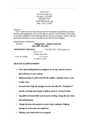 Function Resume 2