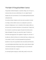 Sisyphus Article w/ Annotations - Jacob Larimore