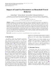 2013_THESIS Impact of Land Use Parameters on Household Travel Behavior.pdf