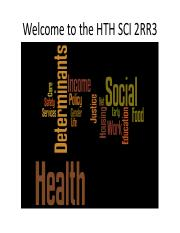 Welcome to HTH SCI 2RR3 -  2016 orientation slides.pdf