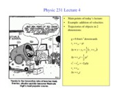 PHY231 lecture4