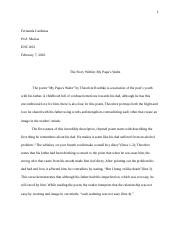 compare and contrast essay fernanda cardenas prof macias  3 pages explanation essay