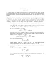 Calculus 1 homework 5 solutions