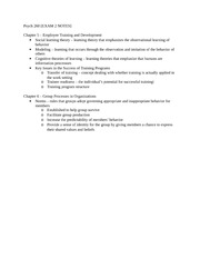 Psych 260 exam 2 notes