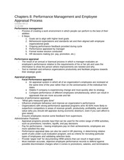 Human resources ch 8 & 9 notes