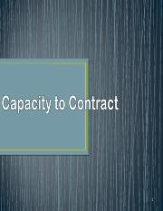 1-4capacity- Business Law ver A.ppt