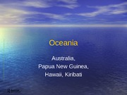 4-Oceania-Voices of Land and Sea