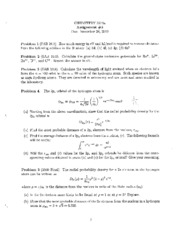 Chem3374A Assignment 5