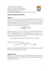 Assignment 3 (Solution)