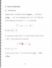 Inverse Functions, Arctrig Functions