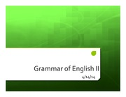 Lecture+5-Grammar+of+English+II