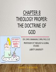 Ch8 Doctrine of God.pptx
