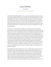 """the heart of joyas voladoras essay More on the heart: """"joyas voladoras i ran across a very short essay called """"joyas voladoras"""" by brian doyle while only slightly over two pages."""