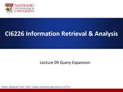 Lecture09-QueryExpansion(1)