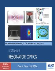Lesson_08_2016f_Resonator Optics