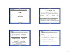 4 Unit 7 Exercises with solutions