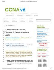 IT Essentials (ITE v6 pdf check point pdf - ITEssentials(ITEv6 0) 16