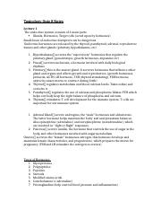 Toxicology Quiz 8 Notes FINAL