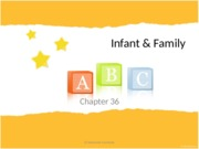 Chapter 36 - Infant & Family