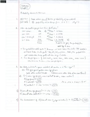 STATS 1 Probabilty Homework Excerises Answers