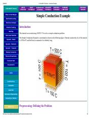 U of A ANSYS Tutorials - Conduction Example.pdf