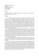 aspirin lab report Synthesis and recrystallization of aspirin | lab report print reference this  disclaimer: this work has been submitted by a student this is not an example of the .
