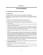 Solution Manual for Principles of Auditing An Introduction to International Standards on Auditing 3r