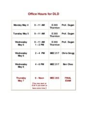 Office Hours for DLD (1)