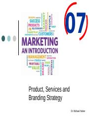 Ch. 7 - Product, Services and Branding Strategy.pptx