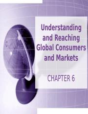 BUSMKT 1040 Chapter 6 Global Marketing.ppt