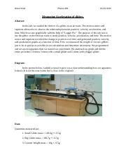Lab report 5 Measuring Acceleration .docx