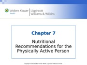 Nutrition Chapter_07  lecture notes