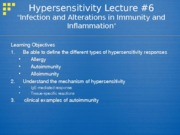 6 Immunity Hypersensitivity