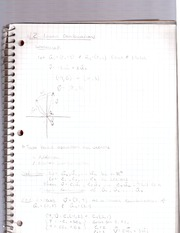 Cal 2 -linear combination notes