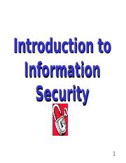 Lecture1-Introduction ITSEC