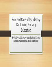 Pros and Cons of Mandatory Continuing Nursing Education - updated (1)