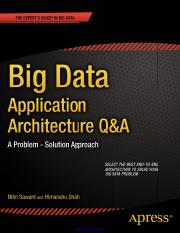 Big data - application and architecture.pdf