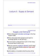 EC101sOutlines05Supply&Demand