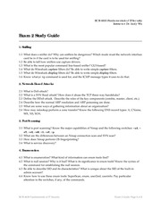 Exam 2 Study Guide on Information Systems