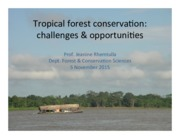 Lecture-8-Tropical-conservation