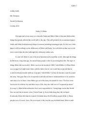 Stalin vs Hitler paper