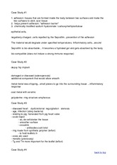 BMED 2100 Biomaterials Case Study Notes gilbert Spring 2015 -case studies for exam prep