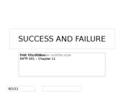 Success&Failure